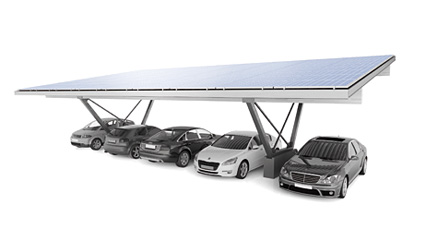 S:FLEX Carport Single, one row