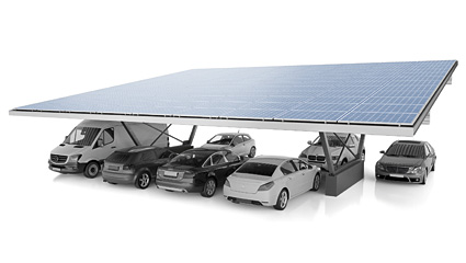 S:FLEX Carport Double, two rows